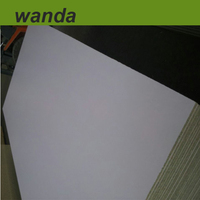 15mm both sides titan white melamine particle board