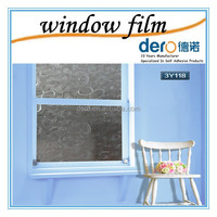 Dero high quality static cling non-adhesive window film
