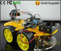 Bluetooth Car Kit With Fresh Shelves Multifunctional Platform Based For Arduino.