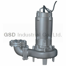 CP submersible pumps for waste water treatment, non-clog impeller, 50hz-60hz