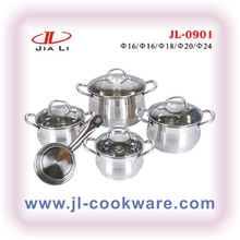 cut edge cookware set(JL-0901)NEW PRODUCTS silicon