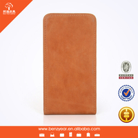 Cowhide genuine leather phone case for samsung s5