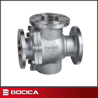 made in china dn40 flanged end ball valve