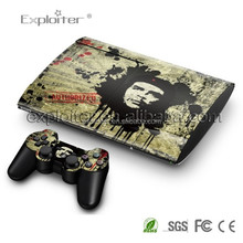 Low price new coming game skin for ps3 slim controller console skin