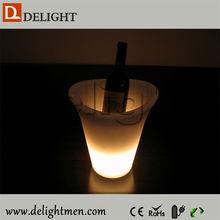 Hot sale rechargeable light up color chang antique wine bar cabinet