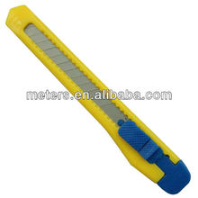 9mm Snap off Free Sample Plastic Pocket Safety Office Utility Cutter Knife