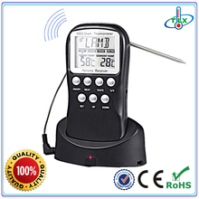 New products Wireless 433MHZ Remote BBQ Thermometer For Grill, Cooking, Turkey,Pork, Beef
