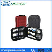 OP CE FDA ISO approved high quality hot sale promotional advanture outdoor army first aid bag