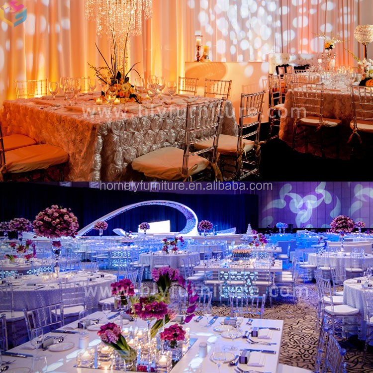Banquet furniture gold phoenix chair