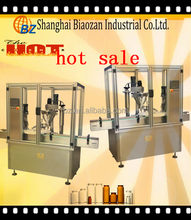 small bottle filling and capping machine / shampoo plastic bottle cap seal