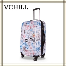 Cheap luggage suitcase /stock luggage/ ABS PC trolley case