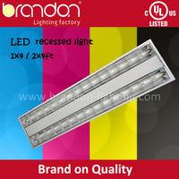 Louver fitting / Troffer light fixture 4x14w fluorescent light