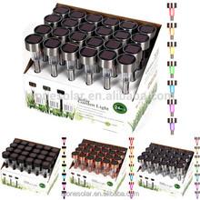 stainless steel solar light garden stake/ solar lawn lgiht/ led lawn light