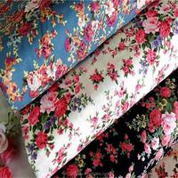 100% cotton partysu floral design cotton poplin printed fabric/printed cotton fabric for garment shirt hometextile