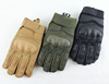 Hard knuckles protection airsoft military tactical full fingered gloves