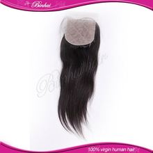 Best Selling Products Hairlines Remy Indian Lace Front Closure Piece Size 4*4