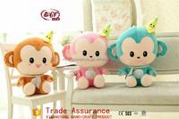 Lovely doll plush toys hip-hop monkey with head's tire / monkey doll girl children's creative gift