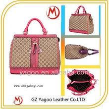guangzhou fashion women big lady handbags