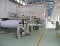 High Capacity 100t/d 2640mmFourdrinier Type Culture Paper Machine/A4 Paper/Exercise Book Making Machine