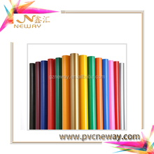 Double side glossy pvc /pvc colorful cutting vinyl