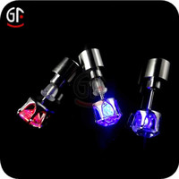 Latest Model Fashion Plastic Led Cute Girls Earrings With Fast Delivery