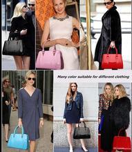 high fashion grey suede handbag wholesale wooden handbag handles ladies cheap handbag