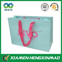 2015 new luxury paper bag printing