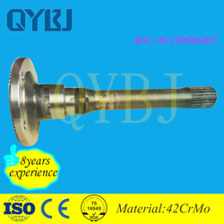 Hot product car spare parts car trailer axles tandem axle with best quality