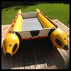 Inflatable Catamaran Yacht Sail Catamaran for sale