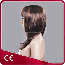 Mannequin Head Synthetic Hair With Bangs