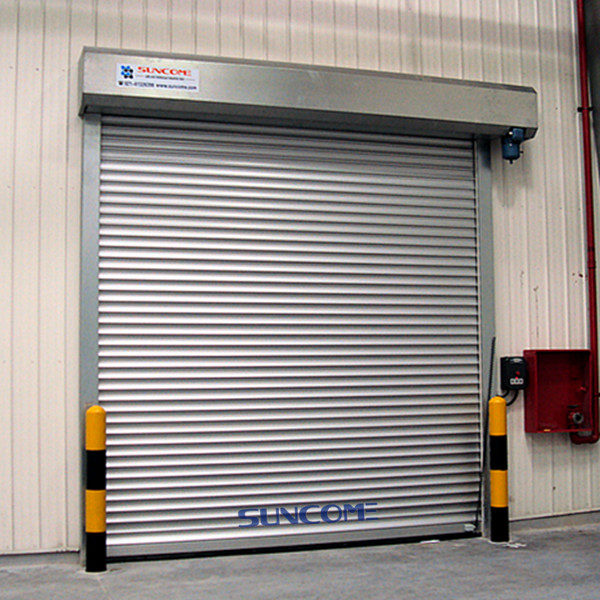 Industrial security door aluminum rapid rolling shutter