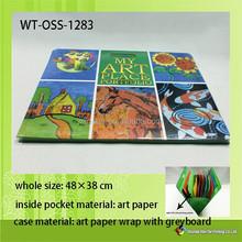 WT-OSS-1283 plastic file zipper bag document