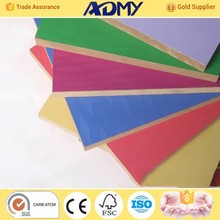 ADMY alibaba best sellers best price of melamine rose picture faced mdf with competitive offer