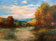 Shenzhen Dafen Oil Painting Village Professional Manufacturer Wholesale High Quality Natural Scenery Oil Painting