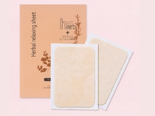 Body three herb aroma relaxation japan foot sheet low acidity liquid gel product
