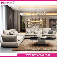 Alibaba foshan fabric furniture lastest design 5 seater comfortable fancy drawing room sofa set