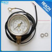 burdon tube type pressure gauge for natural gas car