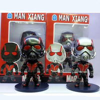 2pcs set Marvel super hero Ant-man 12cm toy action figure