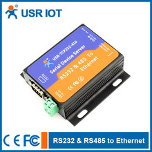 (USR-TCP232-410) RS232 RS485 to Ethernet Converter,Support Upgrade Firmware via Network