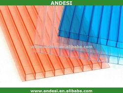 Waterproof flexible colour polycarbonate sheet