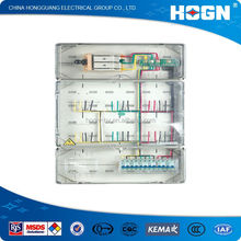 2014 Hot Sale Transparent Single Phase Boxes for prepaid Meters