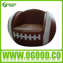 Popular Child Sofa Leather Baseball Sofa