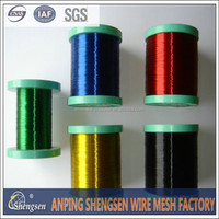 hot sale pvc coated wire or pvc coated galvanized wire