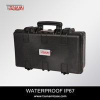 No.512717 middle size equipment wine carrying case waterproof plastic tool case with foam insert