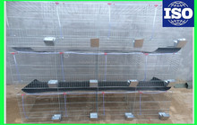 4 tiers 24 capacity fattening commercial use rabbit cage for sale