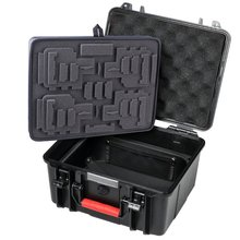 large storage protective carry travel bag for gopros hero4 3plus 3 2 camera