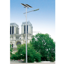 High power solar street light led all in one solar outdoor lighting system with pole solar panel