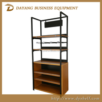 2015 new multifunctional wooden display racks for speciality supermarket or retail store