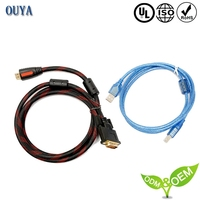 Customized function network cable and 100 pair telephone cable
