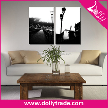 wall art decor painting canvas print picture black and white